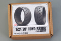 Hobby Design HD03_0598 1/24 20' Toyo R888R (245/30 R20) Tires
