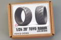 Hobby Design HD03_0599 1/24 20' Toyo R888R (275/30 R20) Tires