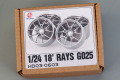 Hobby Design HD03_0603 1/24 18' Rays G025 Wheels