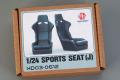 Hobby Design HD03_0612 1/24 Sports Seats (J)