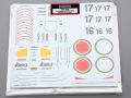 Hobby Design HD04_0086 1/12 Yamaha YZR500 (OW98) Team Lucky Strike Roberts Decal 【メール便可】