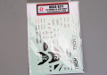 Hobby Design HD04_0171 1/12 Yamaha YZF-R1M Tech21 Dress UP Decal for Tamiya 【メール便可】
