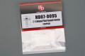 Hobby Design HD07_0095 1.0mm Flat Head Rivets 【メール便可】