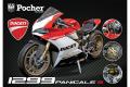 Pocher(ポケール) 1/4キット ドカティ 1299 パニガーレ S アニヴェルサリオ (レッド /ホワイト)