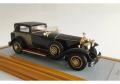 【お取り寄せ商品】 Ilario 1/43完成品 IL43089 Rolls Royce Phantom I Riviera Town Brougham Brewster 1929 snS390LR Black/Gold