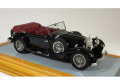 【お取り寄せ商品】 Ilario 1/43完成品 IL43092 Mercedes-Benz 500K Tourenwagen 1934 Cabriolet open Black