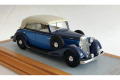 【お取り寄せ商品】 Ilario 1/43完成品 IL43117 Horch 830 BL Cabriolet 1936 Close Top