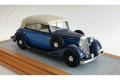 【お取り寄せ商品】 Ilario 1/43完成品 IL43117 Horch 830 BL Cabriolet 1936 Close Top