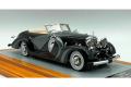Ilario 1/43完成品 IL43130 Mercedes-Benz 500K 1935 sn123696 Cabriolet Saoutchik Top Down Limited 100pcs