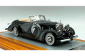 【お取り寄せ商品】 Ilario 1/43完成品 IL43130 Mercedes-Benz 500K 1935 sn123696 Cabriolet Saoutchik Top Down Limited 100pcs