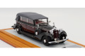 【お取り寄せ商品】 Ilario 1/43完成品 IL43143 Horch 951 Pullman Cabriolet 1938 rhd Black/Burgundy Close Original Car Limited 50pcs