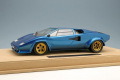 IDEA IM027E 1/18 Lamborghini Countach LP400S 1978 Tahiti Blue