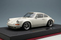 ** 予約商品 ** IDEA IM035B 1/18 Singer 911 (964) Coupe Ivory White