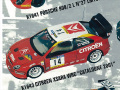PROVENCE K1643 シトロエン XSARA WRC Catalogne 2001