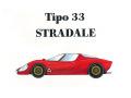 HIRO K168 1/24 Alfa Romeo Tipo 33 Stradale  Early type