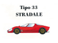 HIRO K168 1/24 Alfa Romeo Tipo 33 Stradale  Early type
