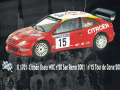 PROVENCE K1701 シトロエン Xsara WRC n.20 San Remo/n.15 TdC 2001
