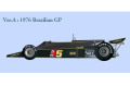 【お取り寄せ商品】 HIRO K251 1/20 Lotus 77 Early type Ver.A 1976 Brazilian GP