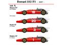 ** 再生産 ** HIRO K272 1/20 Ferrari 312F1 1967 Ver.A Monaco /Dutch /Belgian GP