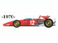 ** 再生産 ** HIRO K304 1/20 Ferrari 312B 1967 Ver.A 1970 Austrian /Italian GP /Canadian GP