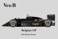 ** 予約商品 ** HIRO K347 1/12 Lotus 97T ver.B 1985 Rd.13 Belgian GP