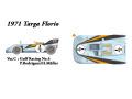 HIRO K372 1/24 ポルシェ 908/03 1971 Targa Frolio Gulf No.4