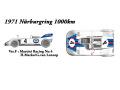 【お取り寄せ商品】 HIRO K375 1/24 Porsche 908/03 Ver.F 1971 Nurburgring 1000km 3rd Martini Racing No.4