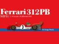 HIRO K430 1/43 フェラーリ 312PB ver.A 1972 Targa Florio