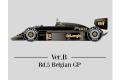 【お取り寄せ商品】 HIRO K440 1/12 Lotus 98T ver.B 1986 Rd.5 Belgian GP