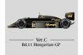 【お取り寄せ商品】 HIRO K441 1/12 Lotus 98T ver.C 1986 Rd.11 Hungarian GP