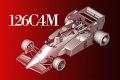 HIRO K443 1/43 フェラーリ 126C4M 1984 Rd.14 Italy GP #27 M.Alboreto / #28 R.Arnoux