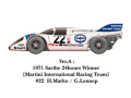 【お取り寄せ商品】 HIRO K448 1/24 Porsche 917K 1971 ver.A LM71 Winner Martini #22
