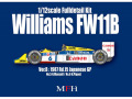 HIRO K473 1/12 Williams FW11B Ver.B 1987 Rd.15 Japanese GP #5 N.Mansell / #6 N.Piquet