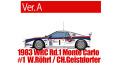 【お取り寄せ商品】 HIRO K504 1/24 Lancia Rally 037 Ver.A 1983 WRC Rd.1 Monte Carlo #1