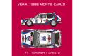 【お取り寄せ商品】 HIRO K544 1/24 Lancia Delta S4 Ver.A 1986 WRC Rd.1 Rally Monte Carlo #7