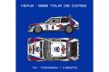 【お取り寄せ商品】 HIRO K545 1/24 Lancia Delta S4 Ver.B 1986 WRC Rd.5 Tour de Corse #4