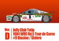 HIRO K560 1/43 ランチア 037 Rally ver.D Jolly Club Totip 1984 WRC Rd.5 Tour de Corse #9