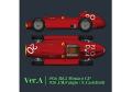 HIRO K580 1/12 フェラーリ D50 Ver.A 1956 Rd.2 Monaco GP #20 J.M.Fangio / E.Castellotti #24 L.Musso
