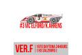 HIRO K606 1/43 ポルシェ 917K ver.F KG Salzburg 1970 Daytona 24hours #3