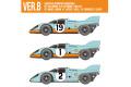 HIRO K610 1/12 ポルシェ 917K 1971 ver.B John Wyer Autimotive Engineering LM #19 /Monza 1,000km #1