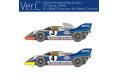 HIRO K614 1/43 ポルシェ 917K 1971 Ver.C Monza 1000km Martini Racing #3/4