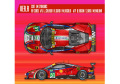 ** 予約商品 ** HIRO K629 1/24 フェラーリ 488GTE Ver.A 2017 LM AF Corse #51/#71