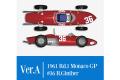 ** 予約商品 ** HIRO K642 1/12 フェラーリ 156 SHARK NOSE ver.A 1961 Rd.1 Monaco GP #36 R.Ginther