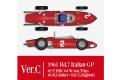 【お取り寄せ商品】 HIRO K644 1/12 フェラーリ 156 SHARK NOSE ver.C 1961 Rd.7 Italian GP #2 P.Hill / #4 W.von.Trips / #6 R.Ginther / #32 G.Baghetti