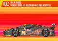 【お取り寄せ商品】 HIRO K645 1/24 フェラーリ 488GTE Ver.C 2017 LM Clearwater Racing #61