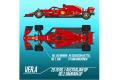 【お取り寄せ商品】 HIRO K670 1/12 Ferrari SF71H 2018 ver.A Rd.1 Australian GP /Rd.2 Bahrain GP