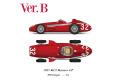 ** 予約商品 ** HIRO K675 1/12 Maserati 250F ver.B 1957 Rd.2 Monaco GP Winner
