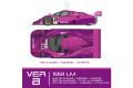 ** 予約商品 ** HIRO K684 1/24 Jaguar XJR12 ver.B 1991 Le Mans #35/34/33
