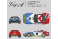 HIRO K699 1/12 Ferrari 365GTB/4 Daytona Ver.A 1972 LM 24h CH.POZZI No.39/75
