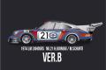 【お取り寄せ商品】 HIRO K714 1/12 Porsche 911 Carera RSR Turbo Ver.B 1974 LM No.21
